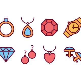 Jewelries and pendants
