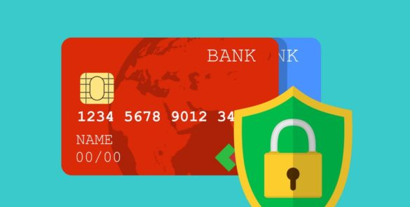 Secure credit card transaction.